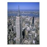 Vista aérea del Empire State Building y Postal