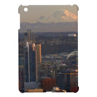 Vista aérea del horizonte 2 de la ciudad de Seattl
