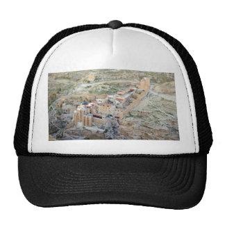 Vista aérea del monasterio de marcha Saba Gorros