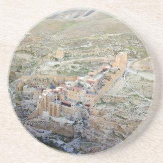 Vista aérea del monasterio de marcha Saba Posavaso Para Bebida