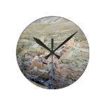 Vista aérea del monasterio de marcha Saba Relojes