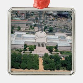 Vista aérea del National Gallery del arte Ornamentos De Reyes Magos
