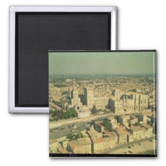 Vista aérea del palacio imanes