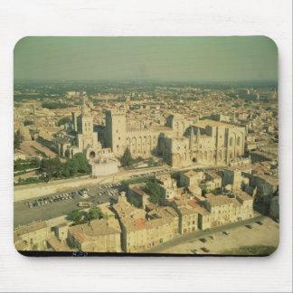 Vista aérea del palacio alfombrillas de raton