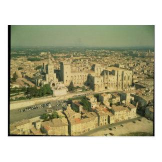 Vista aérea del palacio tarjetas postales