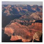 Vista aérea del parque nacional del Gran Cañón, Azulejo Cuadrado Grande