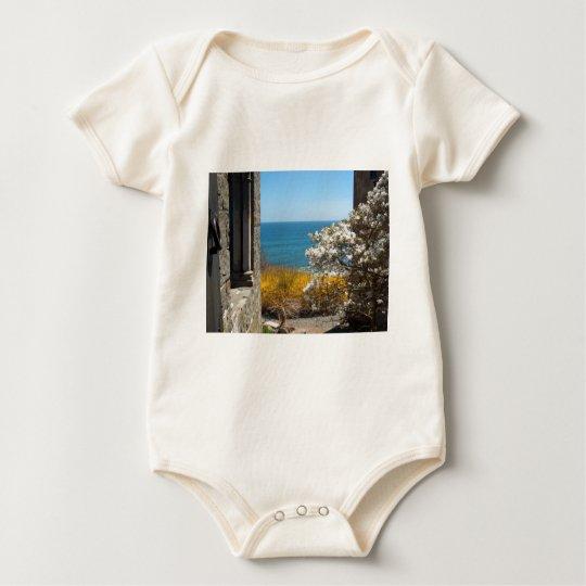 Vista al mar body para bebé