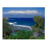 Vista al mar del oeste de Maui Postales