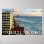 Vista al mar hermosa de Cancun Posters