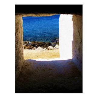Vista al mar - Mykonos, Grecia Tarjetas Postales