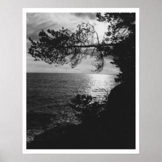 Vista al mar póster