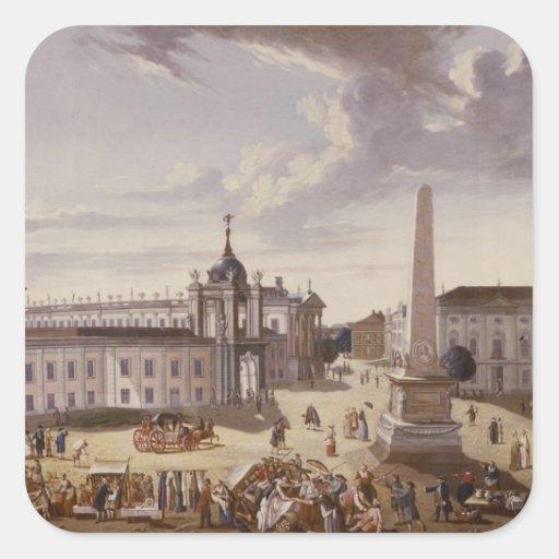 Vista ayuntamiento, 1772 colcomanias cuadradass