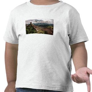 Vista cambiante de la Gran Muralla de China Camiseta