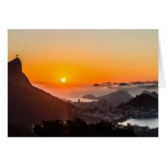 Vista Chinesa, Rio De Janeiro, Brasil Card