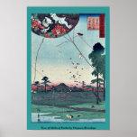 Vista de Akiba de Enshu por Utagawa, Hiroshige Impresiones