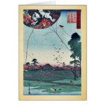 Vista de Akiba de Enshu por Utagawa, Hiroshige Felicitaciones