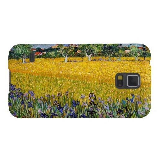 Vista de Arles con la pintura de Vincent van Gogh  Carcasa De Galaxy S5