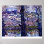 Vista de Arles de Vincent van Gogh Posters