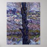 Vista de Arles de Vincent Willem Van Gogh Póster