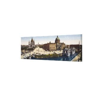 Vista de Berlín al final del siglo Impresión En Tela