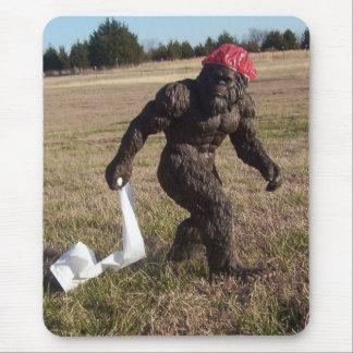 ¡Vista de Bigfoot! Tapetes De Raton