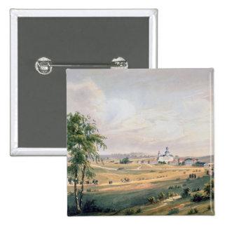Vista de Borodino, ubicación del decisivo Pin Cuadrada 5 Cm