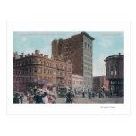 Vista de Broadway, 14to St, avenida Junctio de San Tarjetas Postales