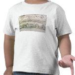 Vista de Burdeos y del río Garona, firmada cerca Camiseta