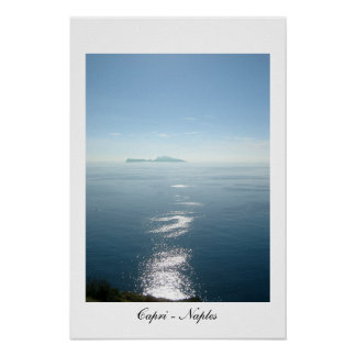 Vista de Capri del parque de Virgiliano Impresiones