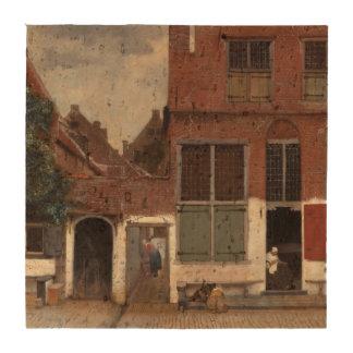 Vista de casas en Delft de Juan Vermeer Posavasos