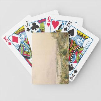 Vista de Constantinopla de Pera Baraja Cartas De Poker
