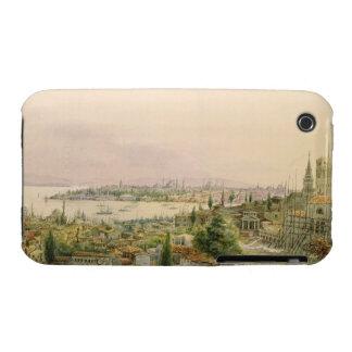 Vista de Constantinopla de Pera Funda Para iPhone 3