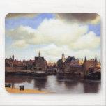 Vista de Delft Alfombrillas De Ratón