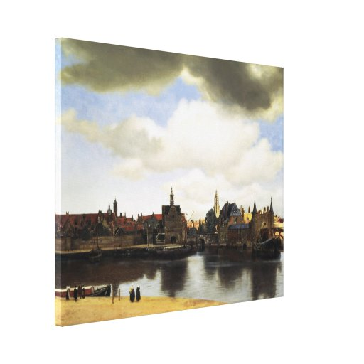 Vista de Delft de Juan Vermeer Impresión En Lienzo