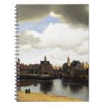 Vista de Delft de Juan Vermeer Libros De Apuntes