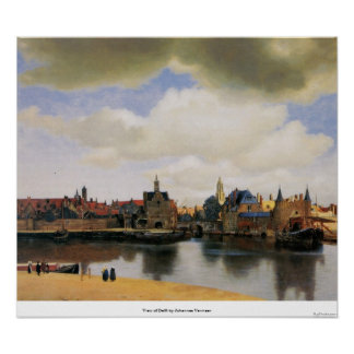 Vista de Delft de Juan Vermeer Impresiones
