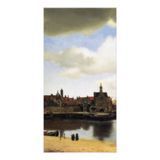 Vista de Delft de Juan Vermeer Tarjetas Personales Con Fotos