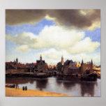 Vista de Delft Posters
