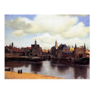 Vista de Delft Tarjeta Postal