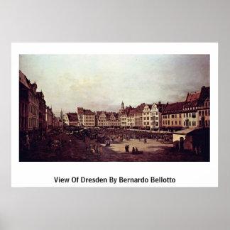 Vista de Dresden de Bernardo Bellotto Posters