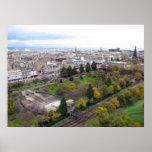 Vista de Edimburgo Escocia Posters