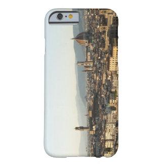 vista de Florencia con el río de Arno, Duomo, Funda De iPhone 6 Barely There