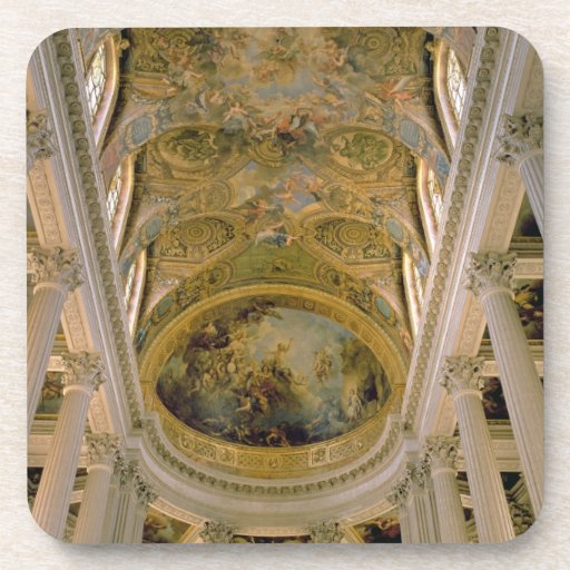 Vista de Gallery y del techo saltado dep del rey Posavasos De Bebidas