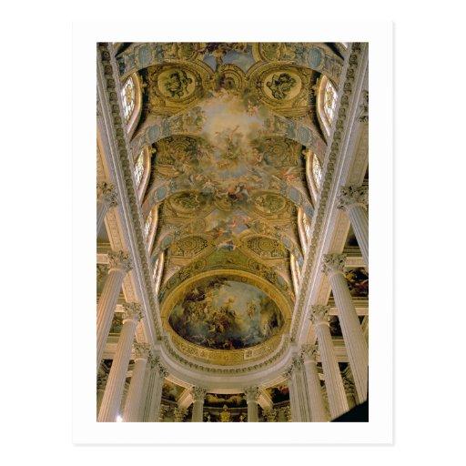 Vista de Gallery y del techo saltado dep del rey Tarjetas Postales