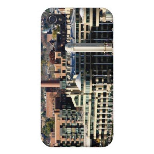Vista de Georgetown y de Costa-Washington DC iPhone 4 Cobertura