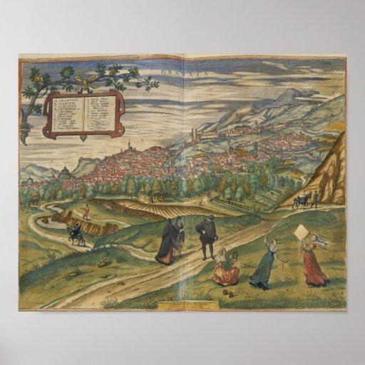Vista de Granada Posters