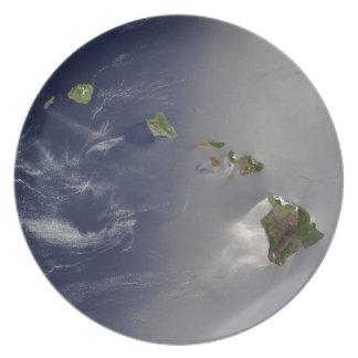 Vista de Hawaii del espacio Platos De Comidas