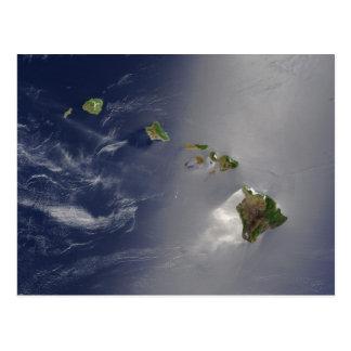 Vista de Hawaii del espacio Postales