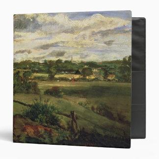 """Vista de Highgate del brezo de Hampstead, c.1834 Carpeta 1 1/2"""""""