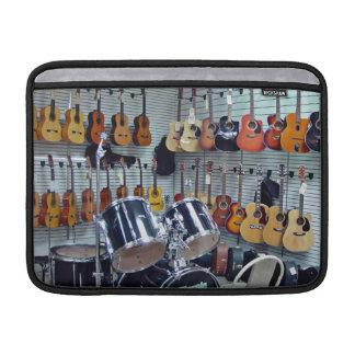 Vista de instrumentos musicales fundas MacBook